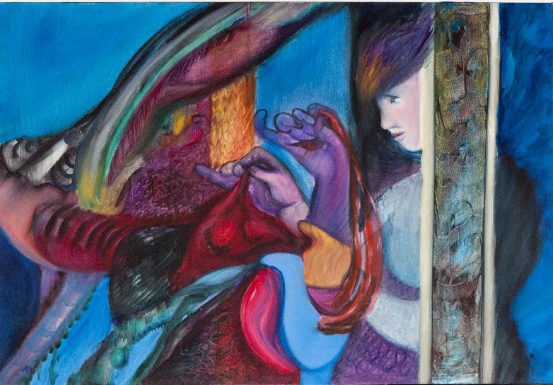 Une œuvre de CANGARDEL Mireille