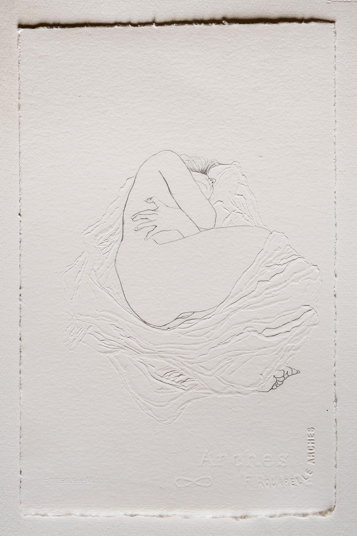 Cut#1 - dessin et découpe au scalpel sur papier Arches 320g. 20x30 cm. 2017 WEB