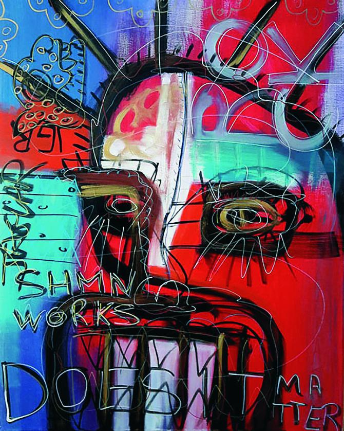 Une oeuvre de El Chuzpo (DUCOIN Christophe)