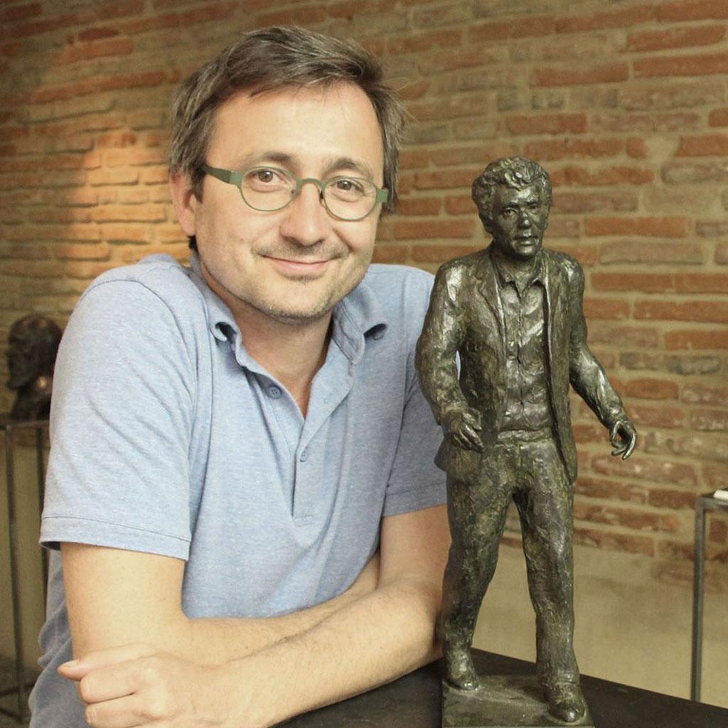 sculpteur-langloÿs-buste-bustes-création-buste-d-après-photos-bronze-claude-nougaro