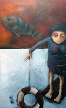 Une œuvre d'Evelyne MAUBERT